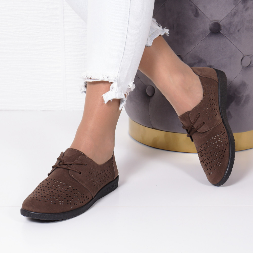 PANTOFI FILENA BROWN