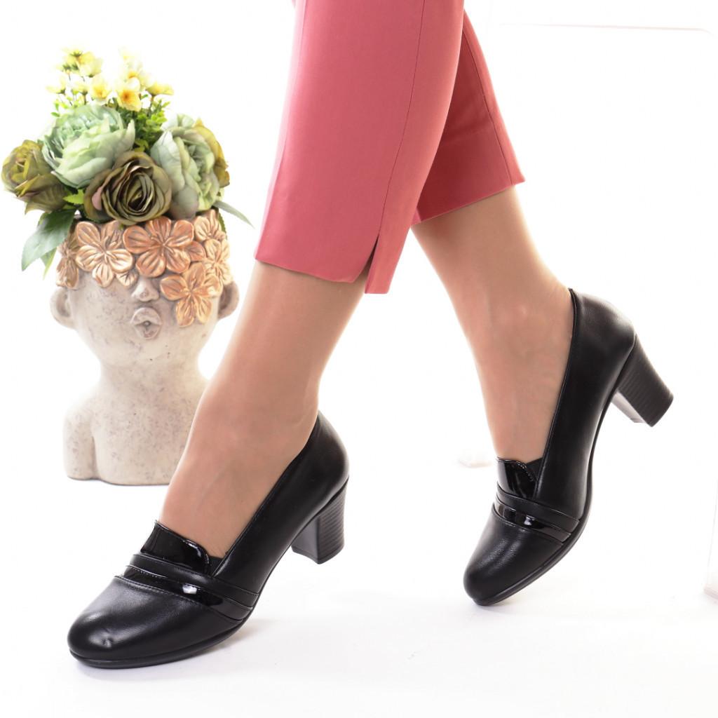 Pantofi piele ecologica Fipa