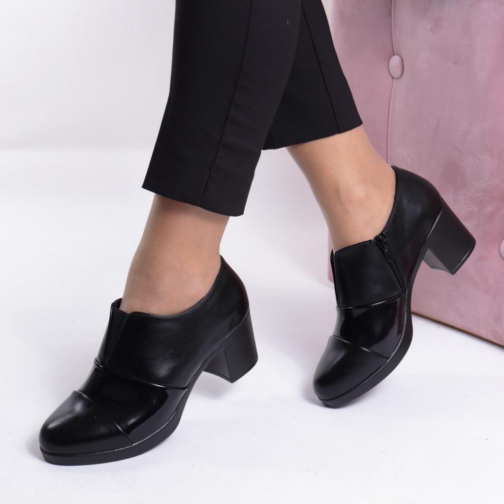 Pantofi piele ecologica Merva