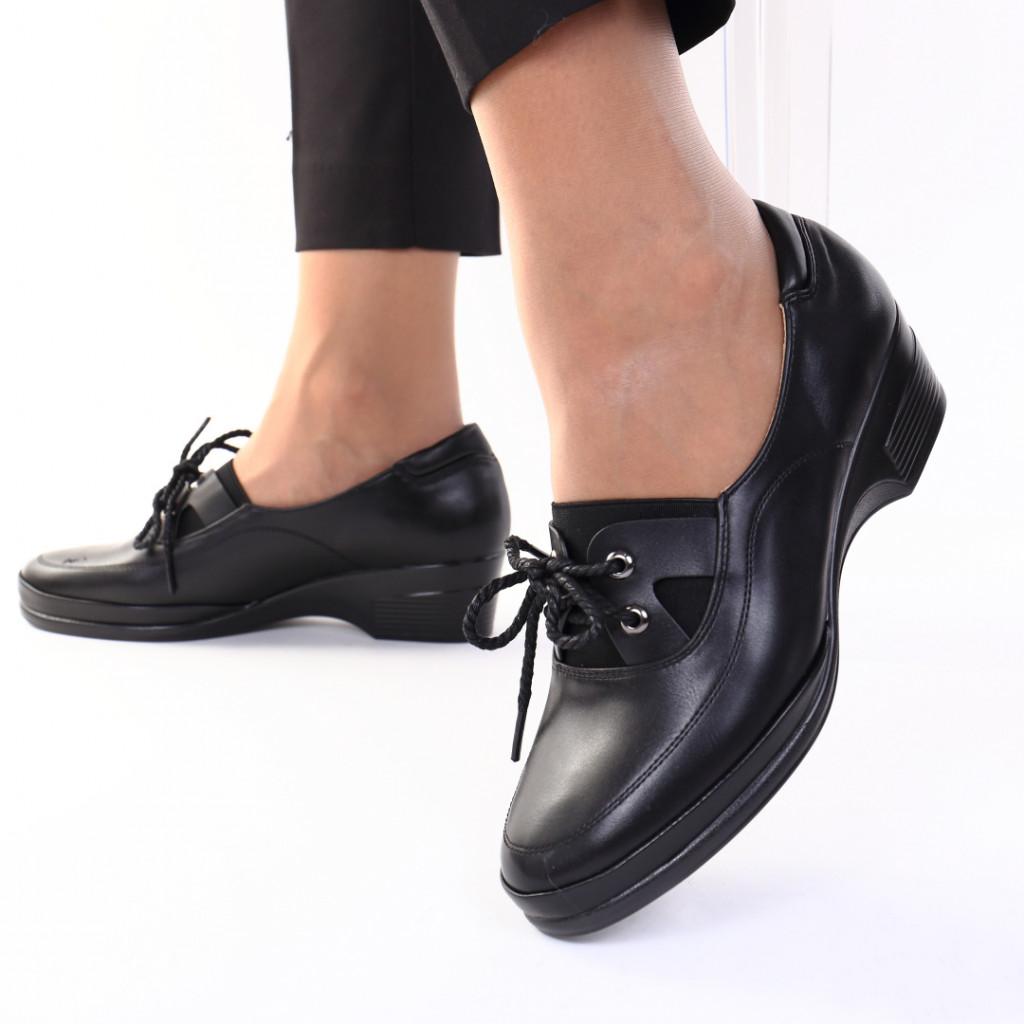 Pantofi piele ecologica Namida