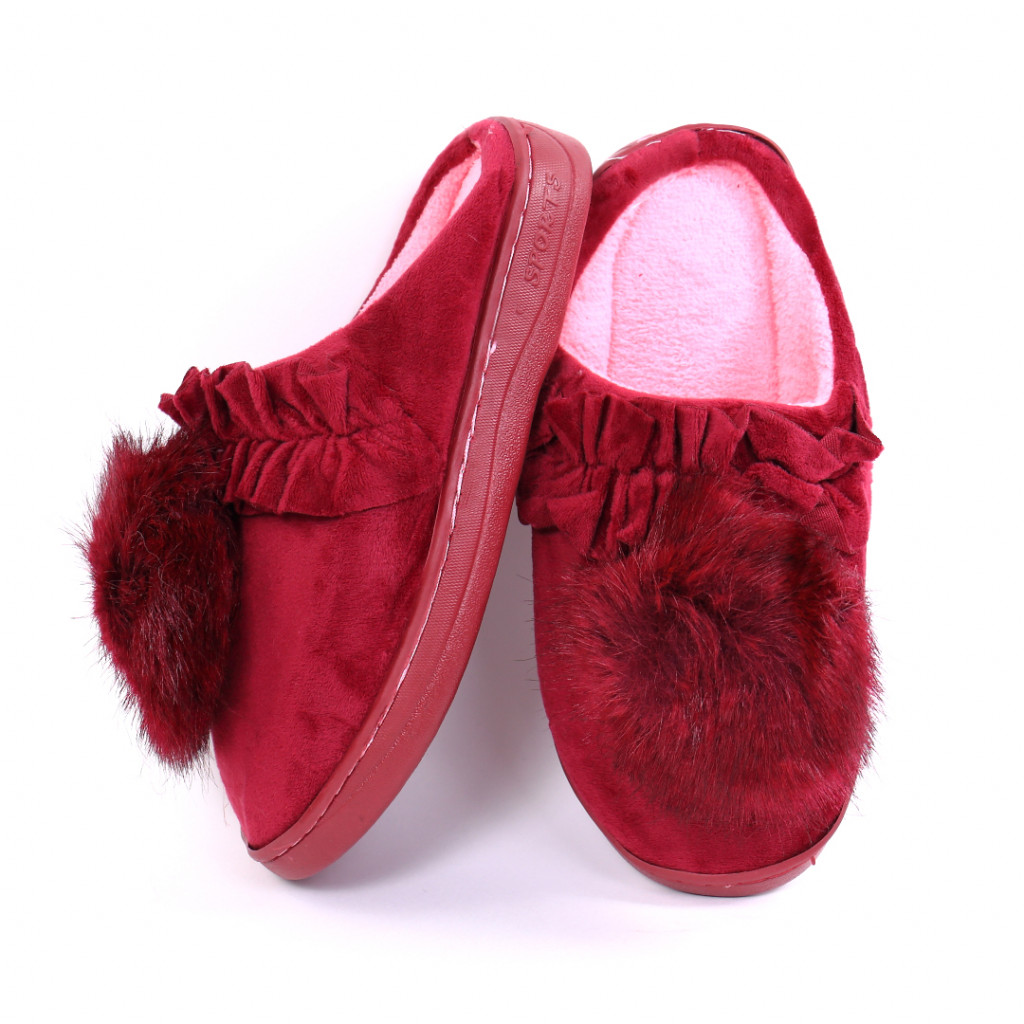Papuci pufosi bordo Miri