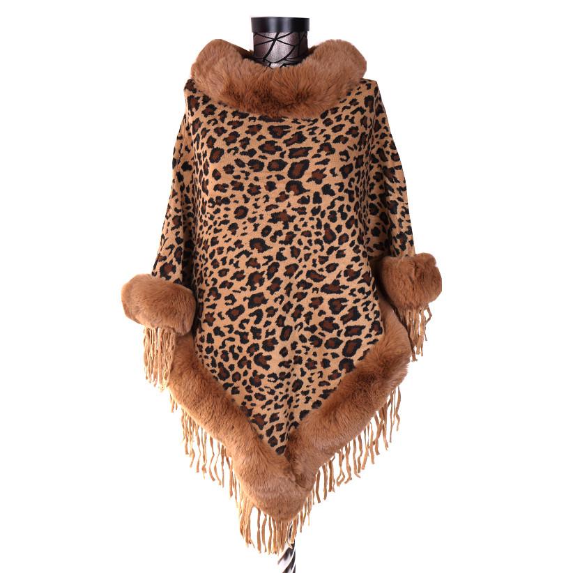 Poncho leopard