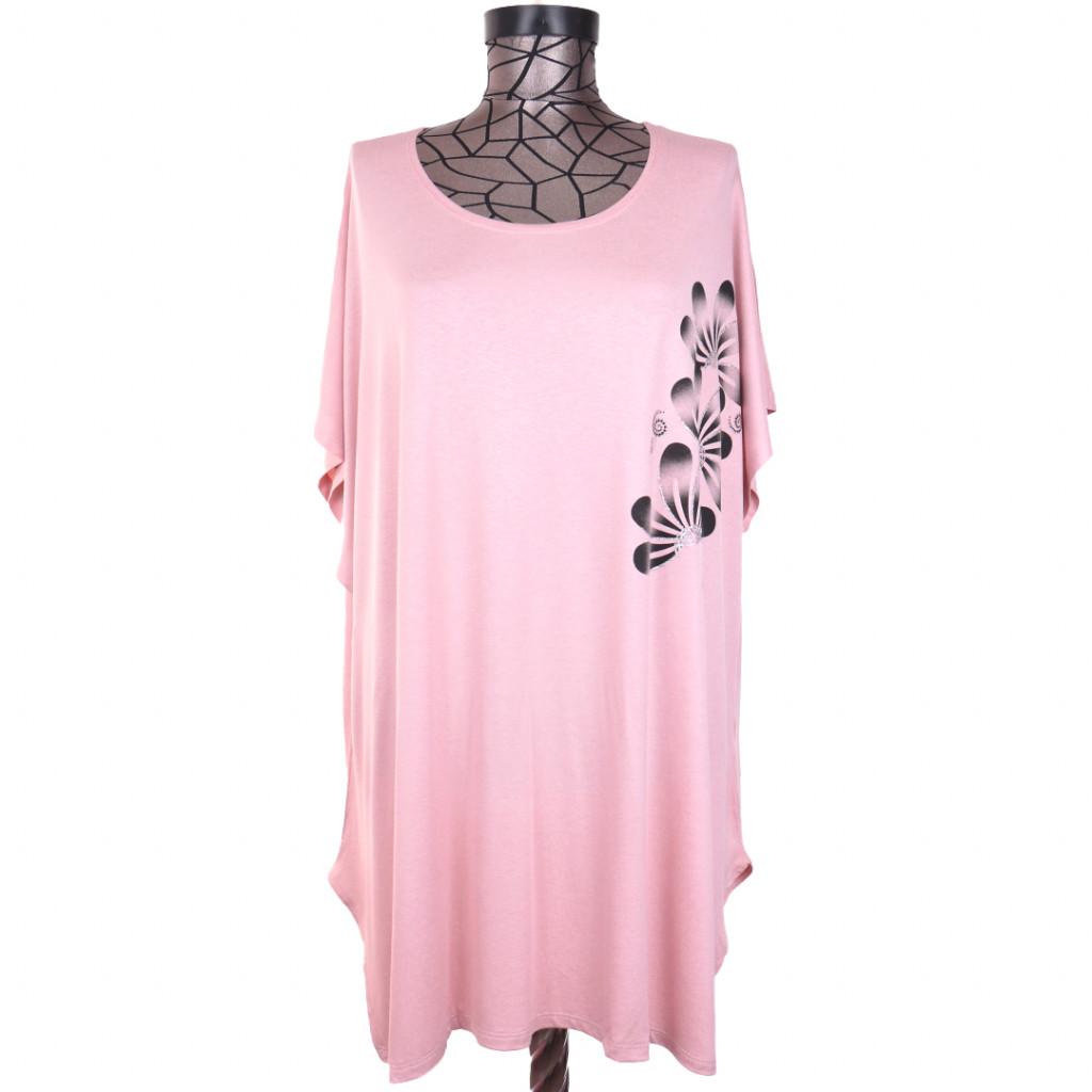Tricou roz FL02