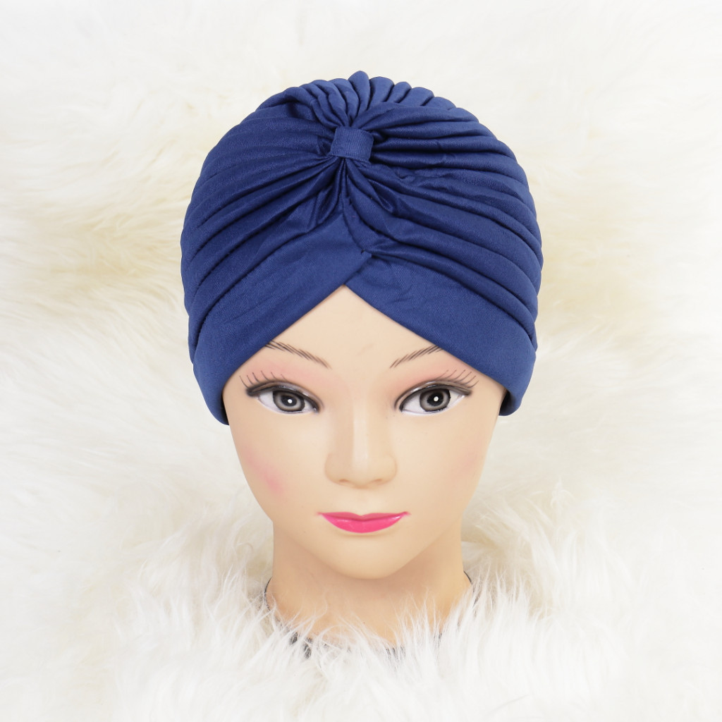 Turban simplu bleumarin Zizi