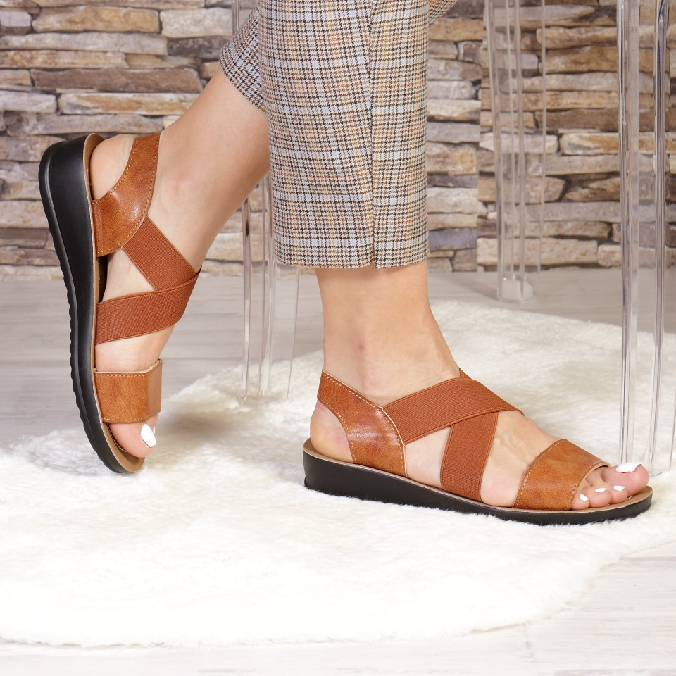 SANDALE LECA BROWN