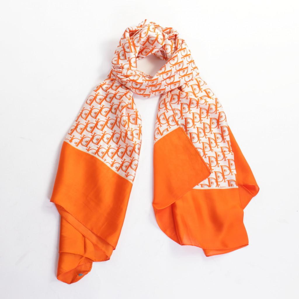 Esarfa portocalie eleganta Sabi