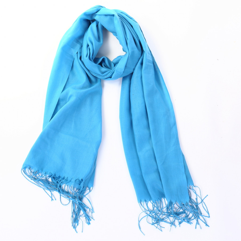 Esarfa simpla bleu Cori