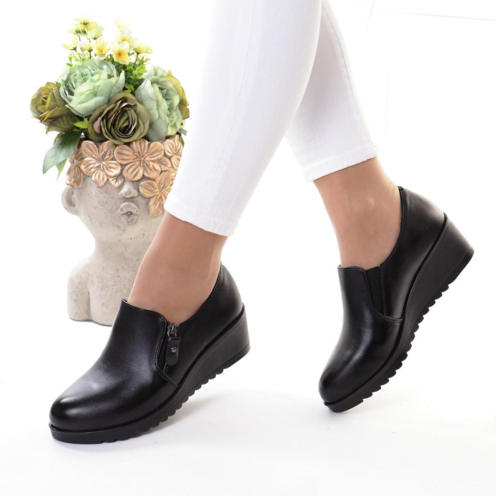Pantofi piele ecologica Feranza
