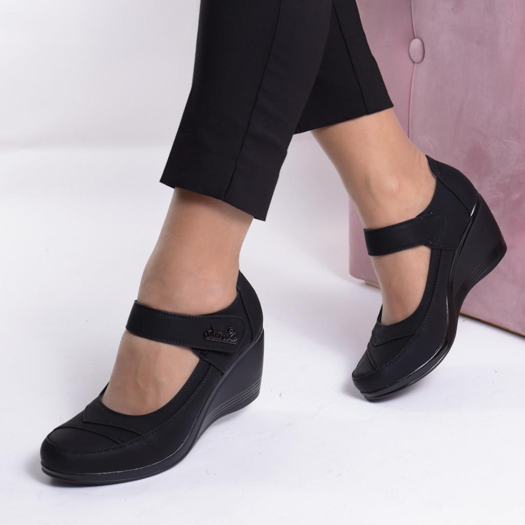 Pantofi piele ecologica Somatra