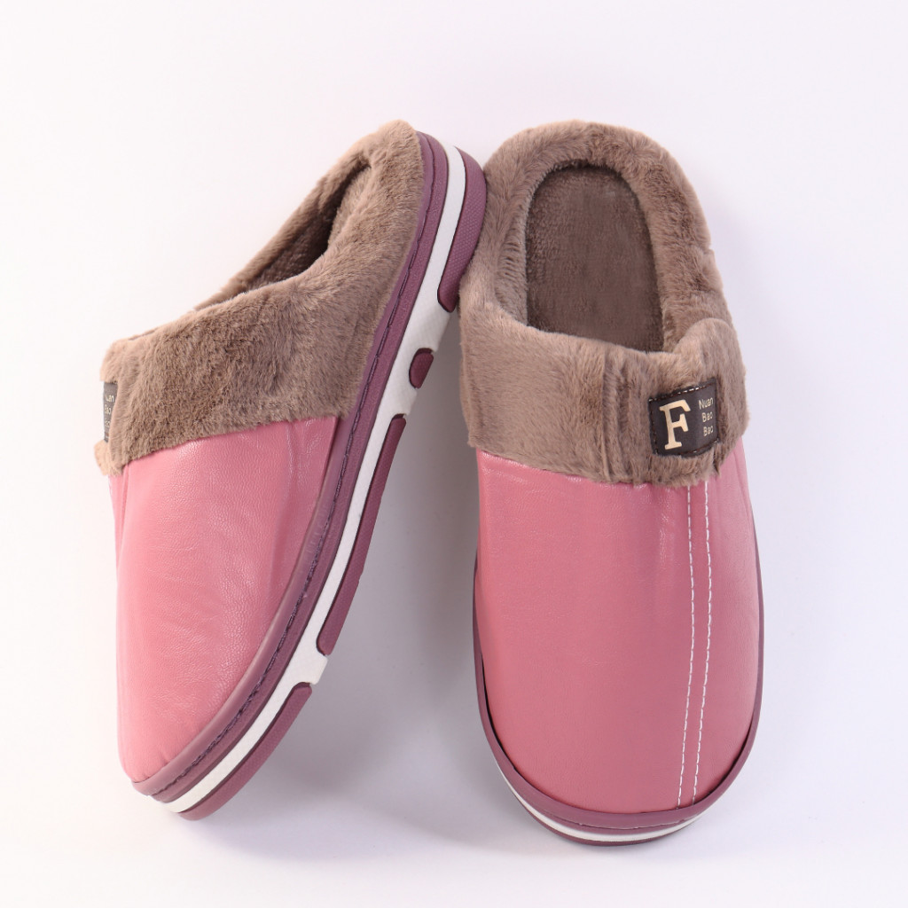Papuci cu blanita rozi Zira