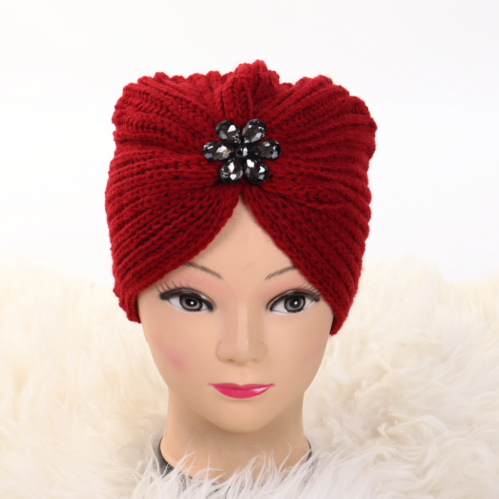 Turban cu model rosu Lien