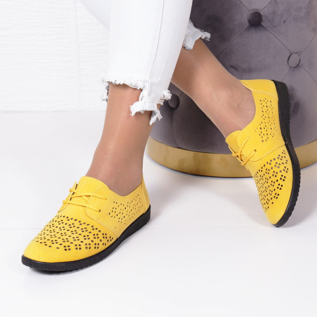 PANTOFI FILENA YELLOW
