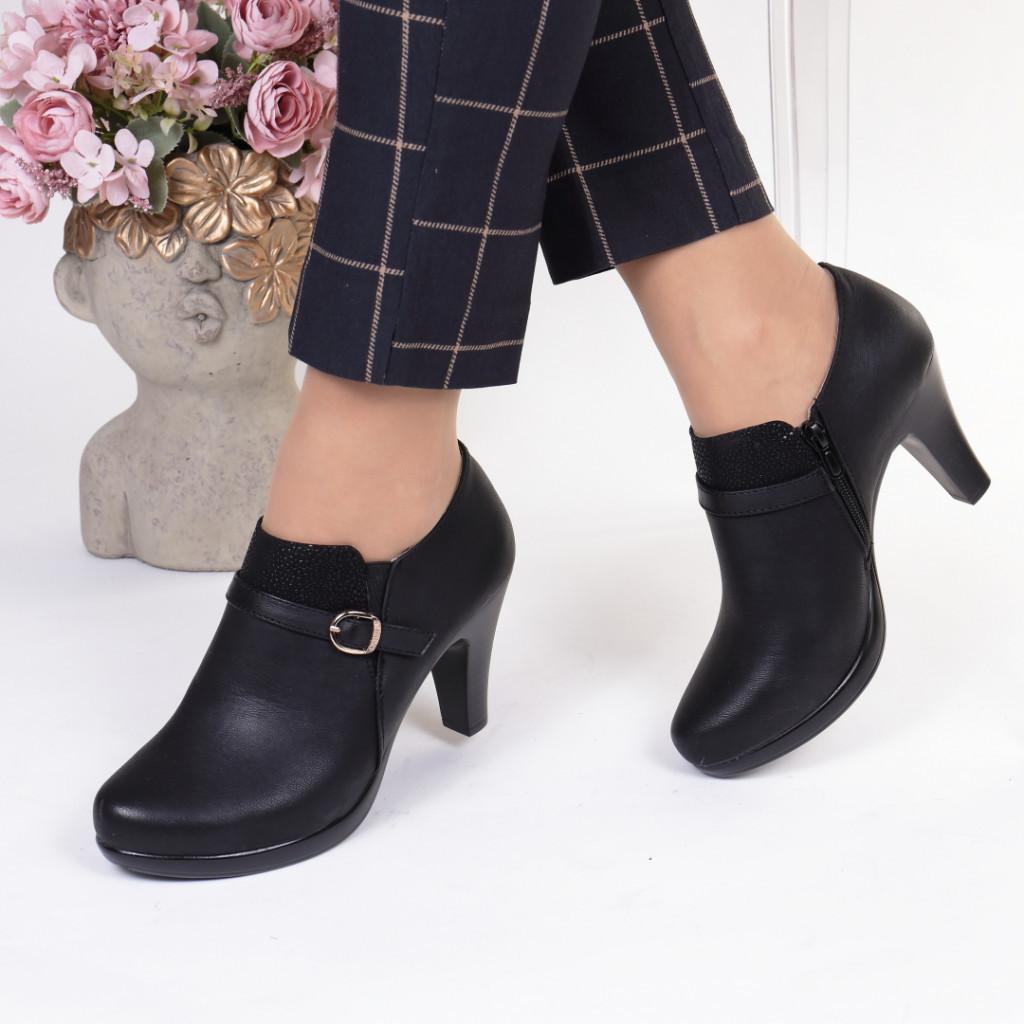 Pantofi piele ecologica Edme