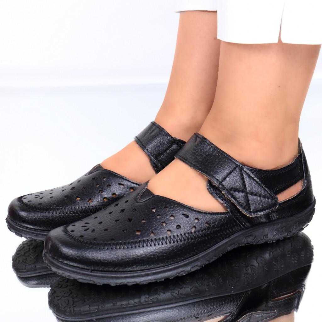 Pantofi piele ecologica Josefina