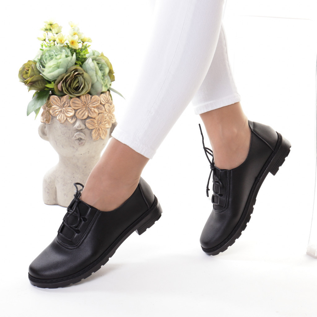 Pantofi piele ecologica Racla
