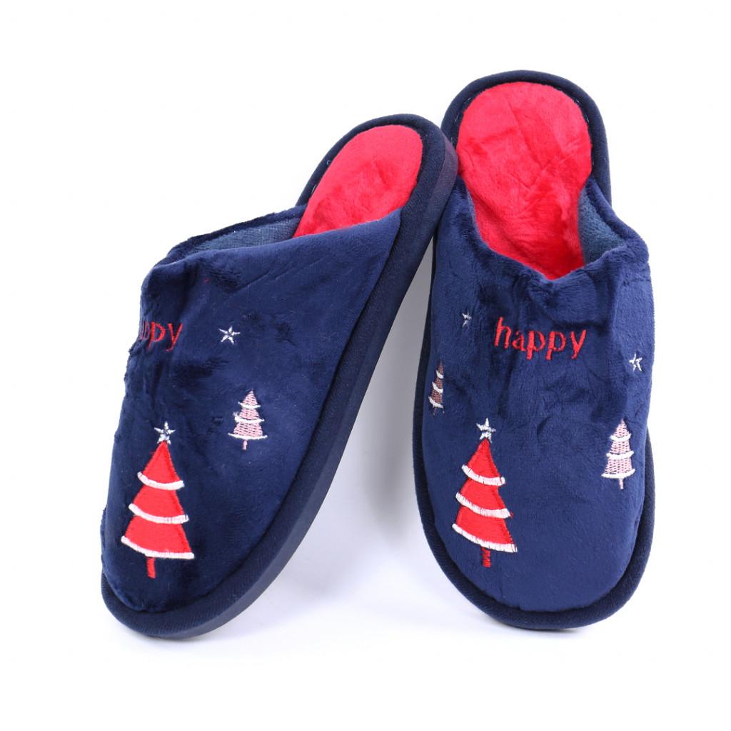 Papuci cu bradut bleumarin Iarmi