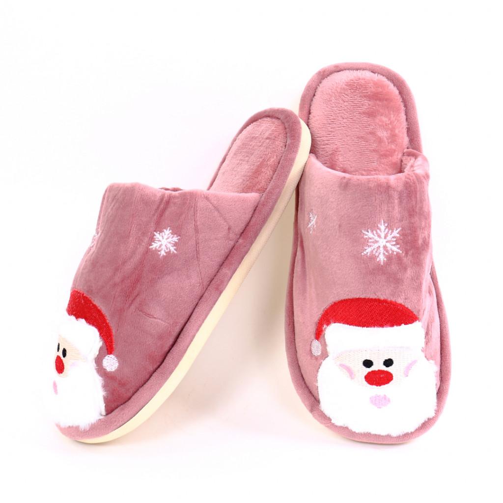 Papuci cu model roz Cino