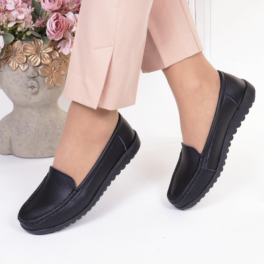 Pantofi negri piele naturala Dariana