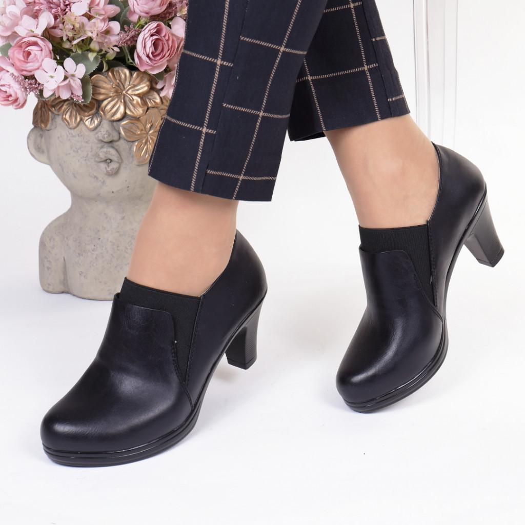 Pantofi piele ecologica Alzira