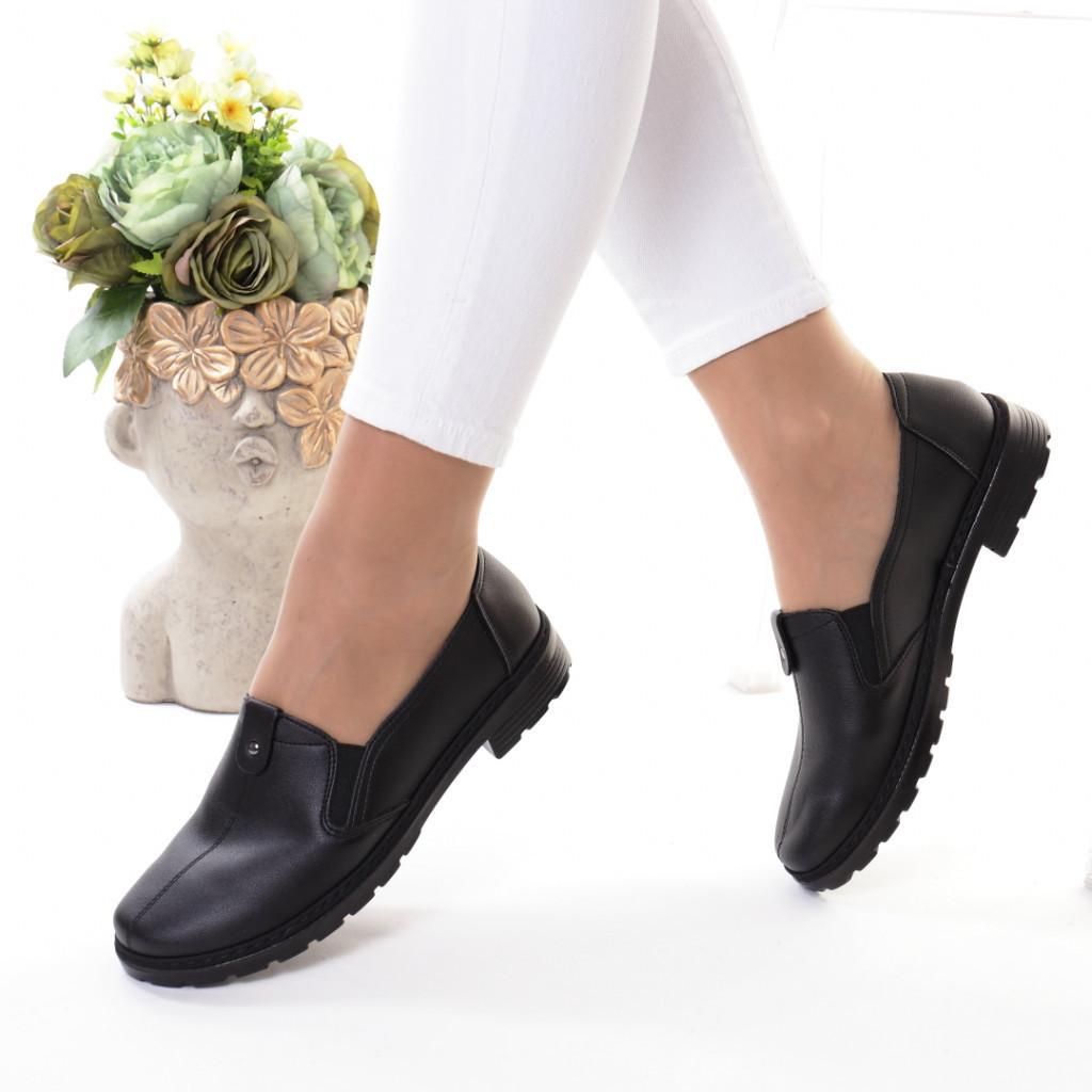Pantofi piele ecologica Nicolandra