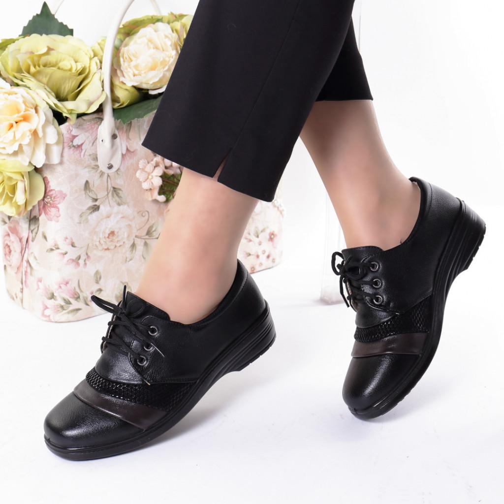 Pantofi piele ecologica Semda