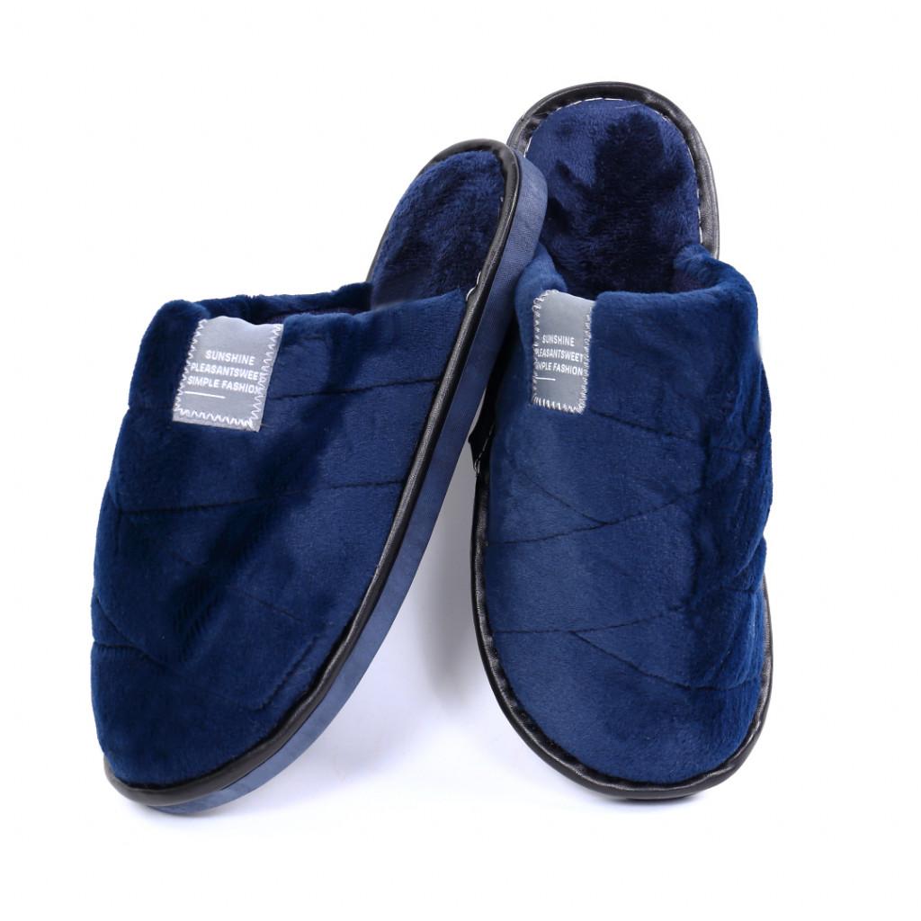Papuci simpli bleumarin Lula