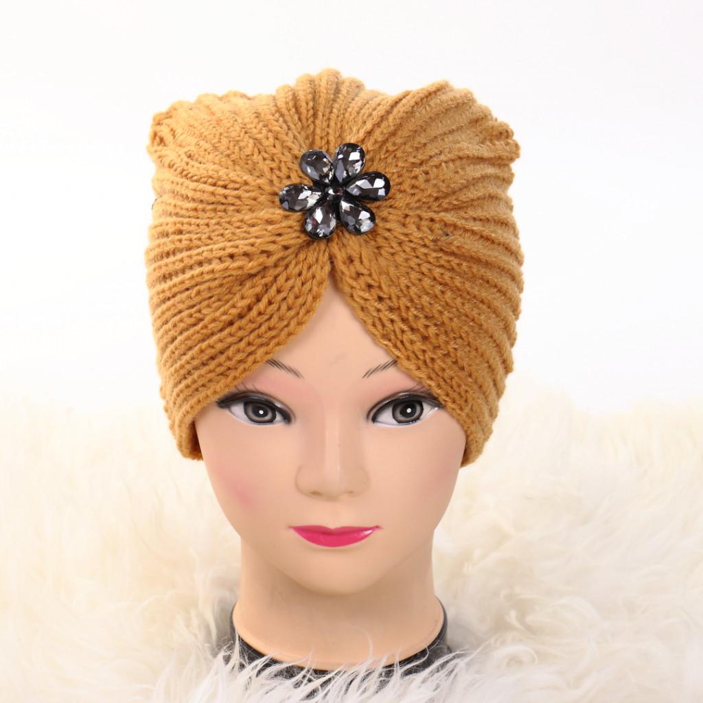 Turban cu model mustar Lien