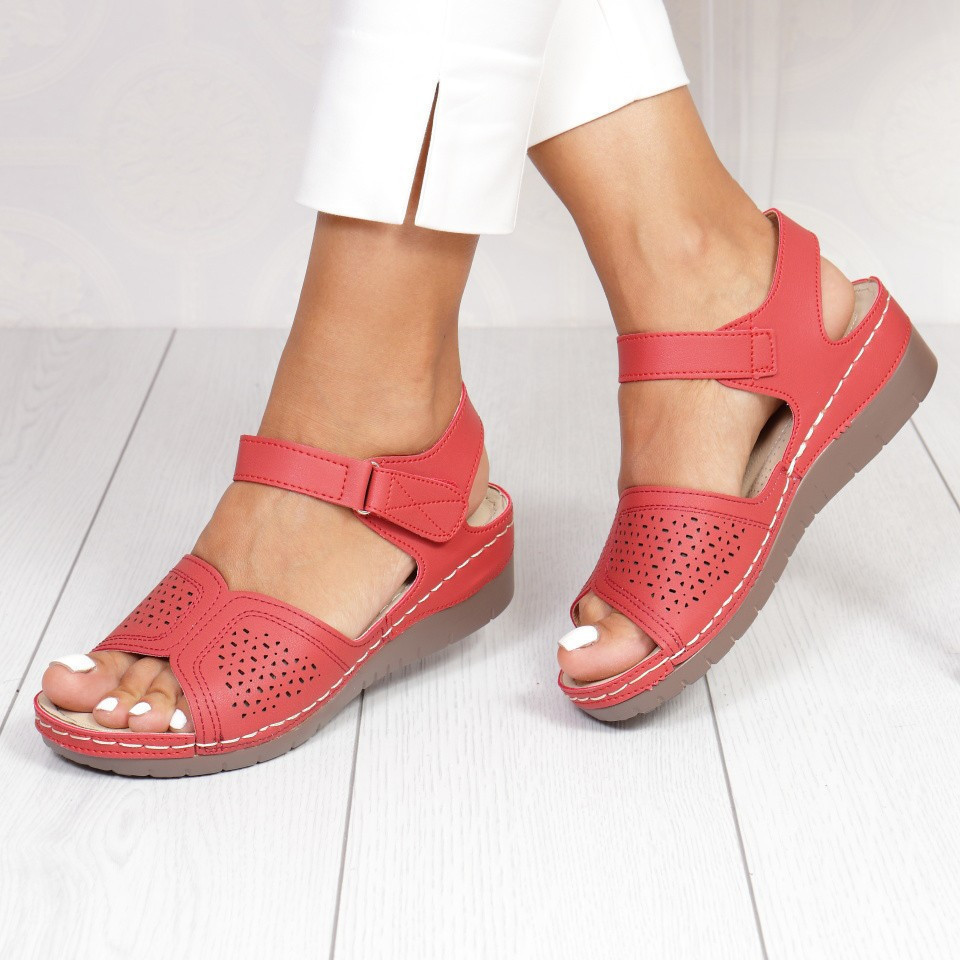 SANDALE CATALINA RED