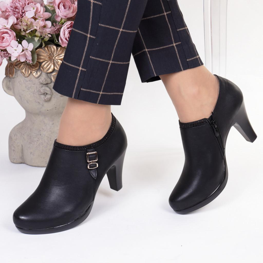 Pantofi piele ecologica Alexa