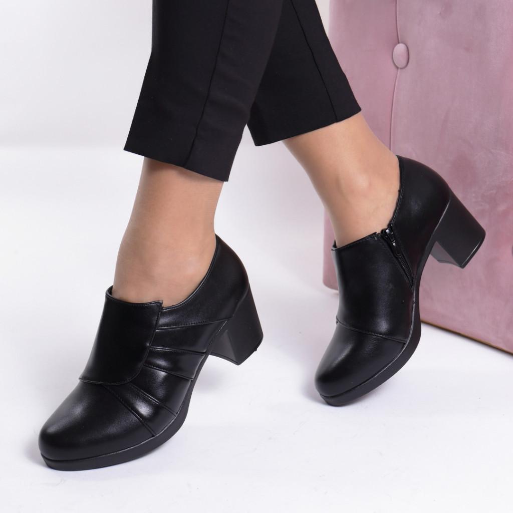 Pantofi piele ecologica Clariza