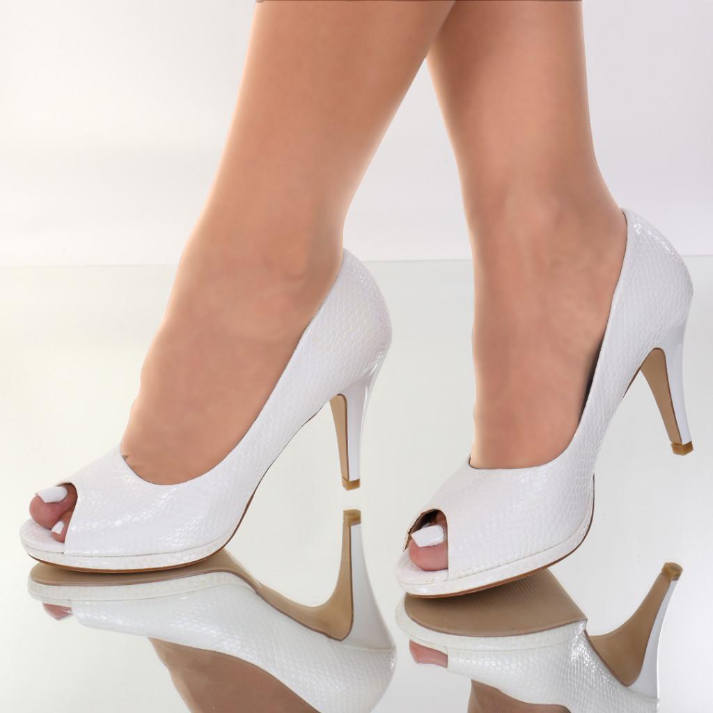 Pantofi piele ecologica Helma