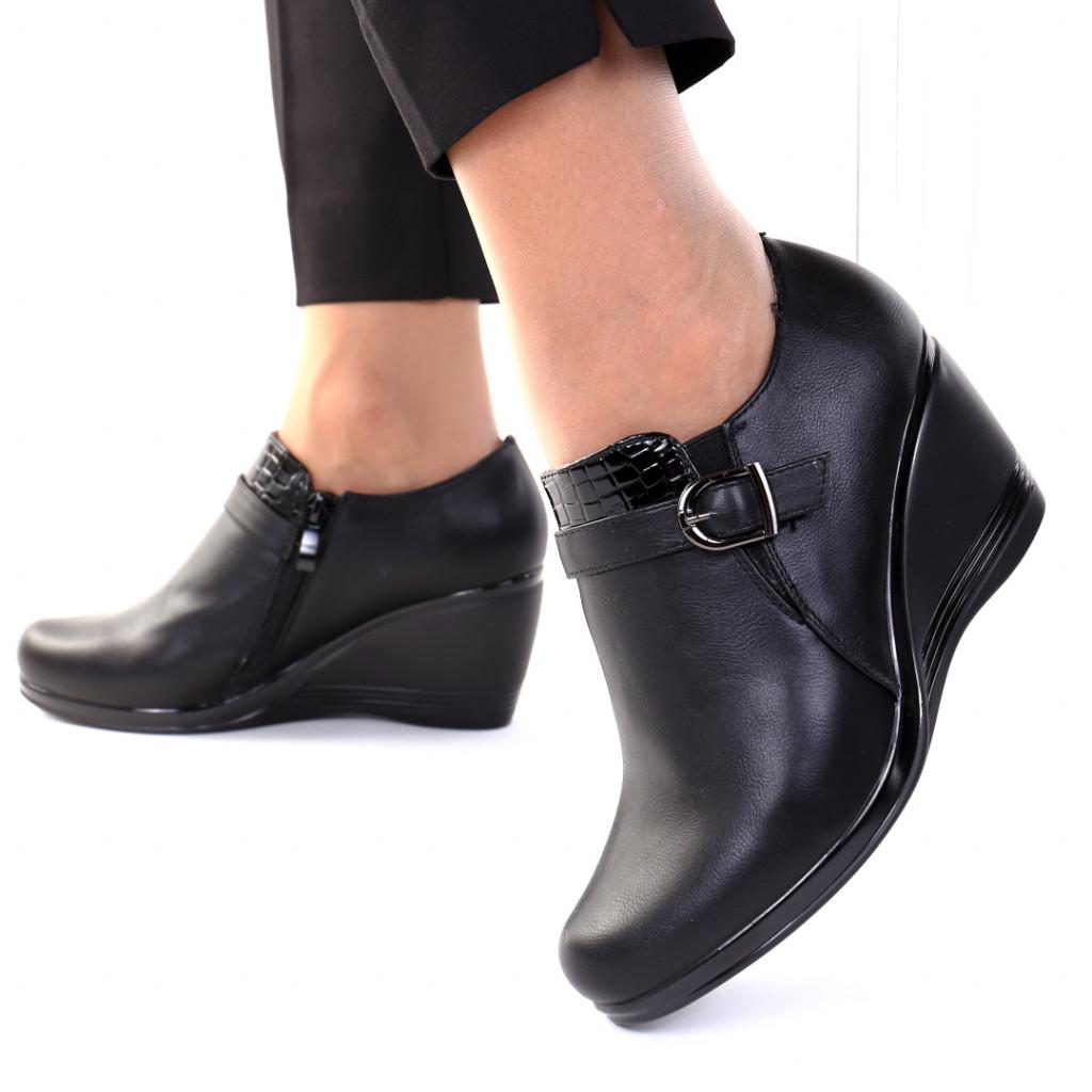 Pantofi piele ecologica Rossana