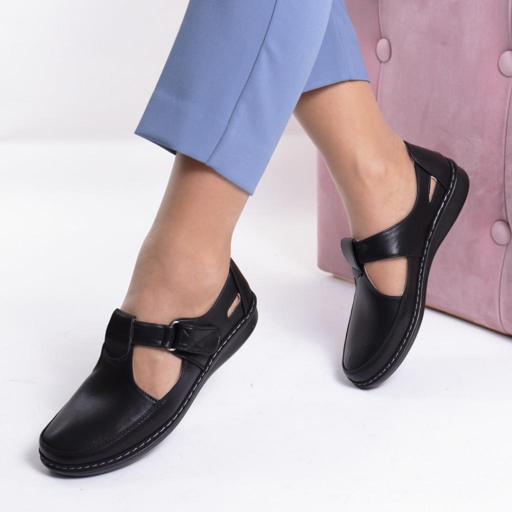Pantofi piele ecologica Zarina