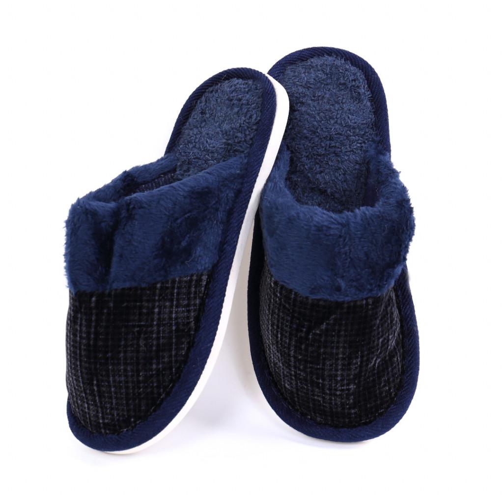 Papuci simpli bleumarin Tom