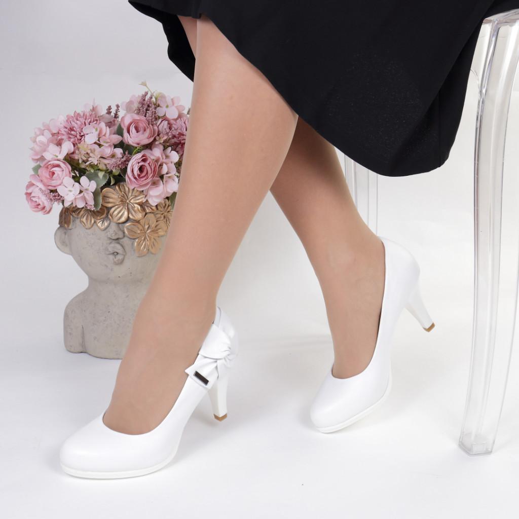 Pantofi piele ecologica Doris
