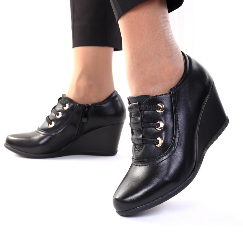 Pantofi piele ecologica Istasa