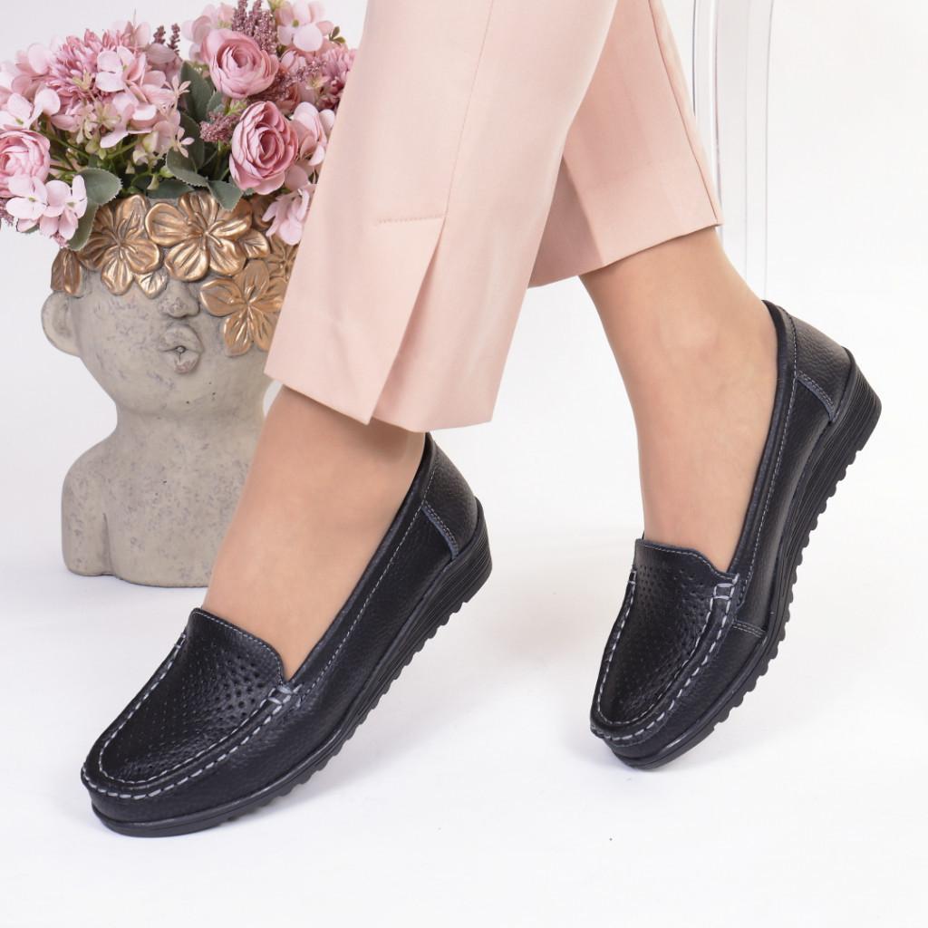 Pantofi piele naturala Ivi
