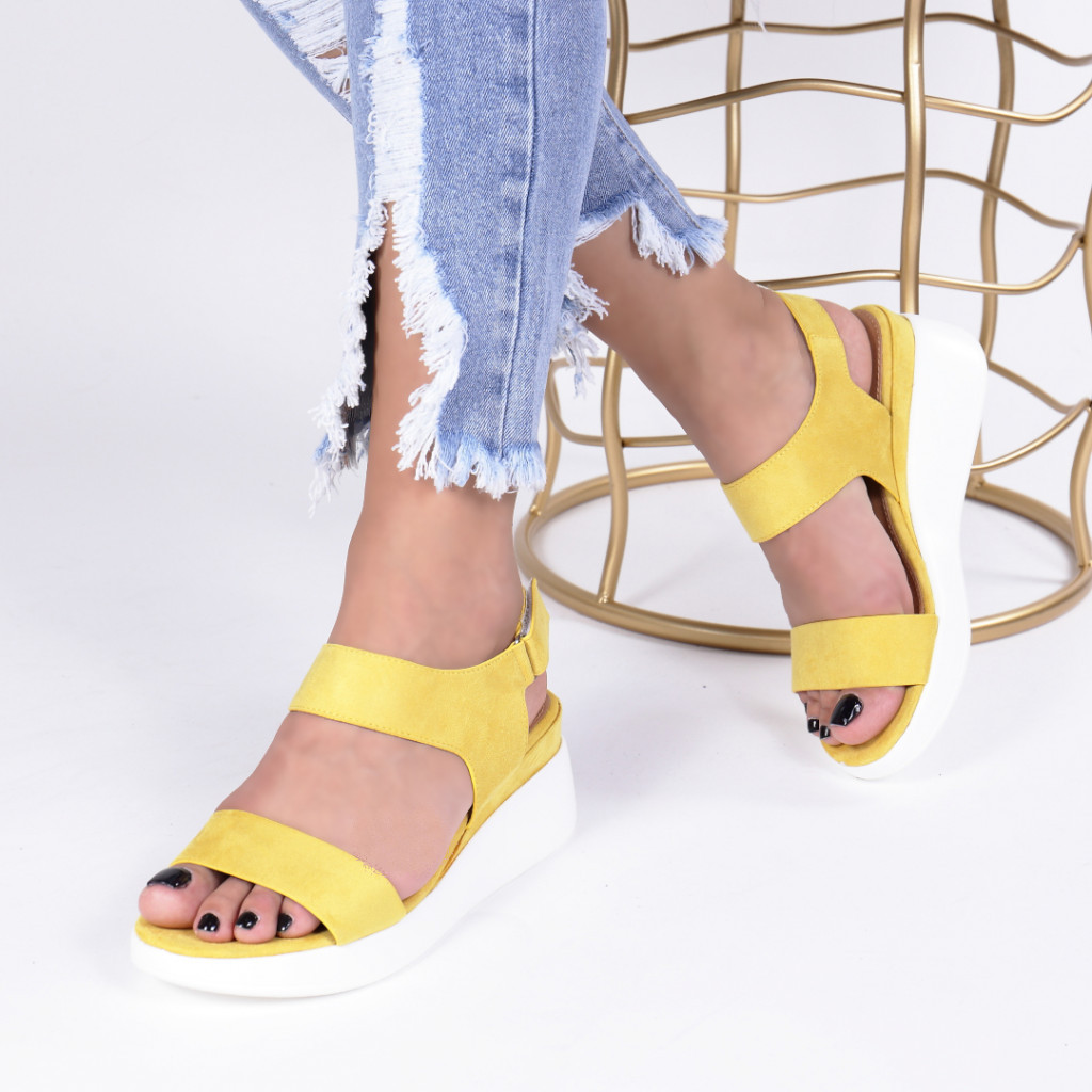 SANDALE CASINA YELLOW