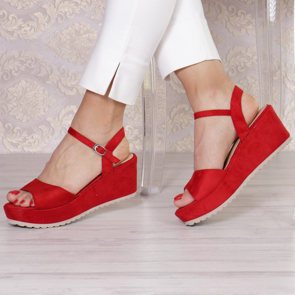 SANDALE GALINA RED
