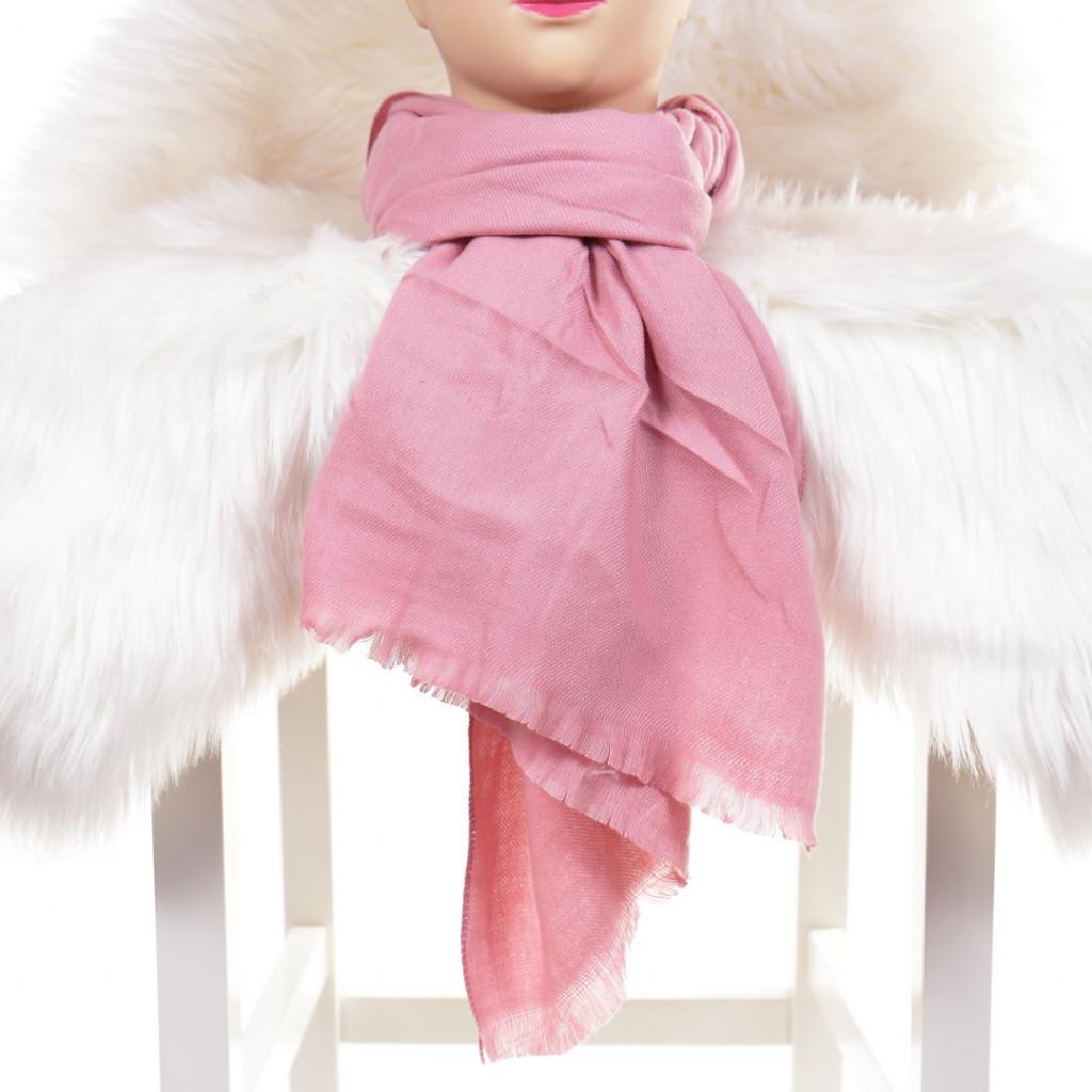 Esarfa roz simpla Kala