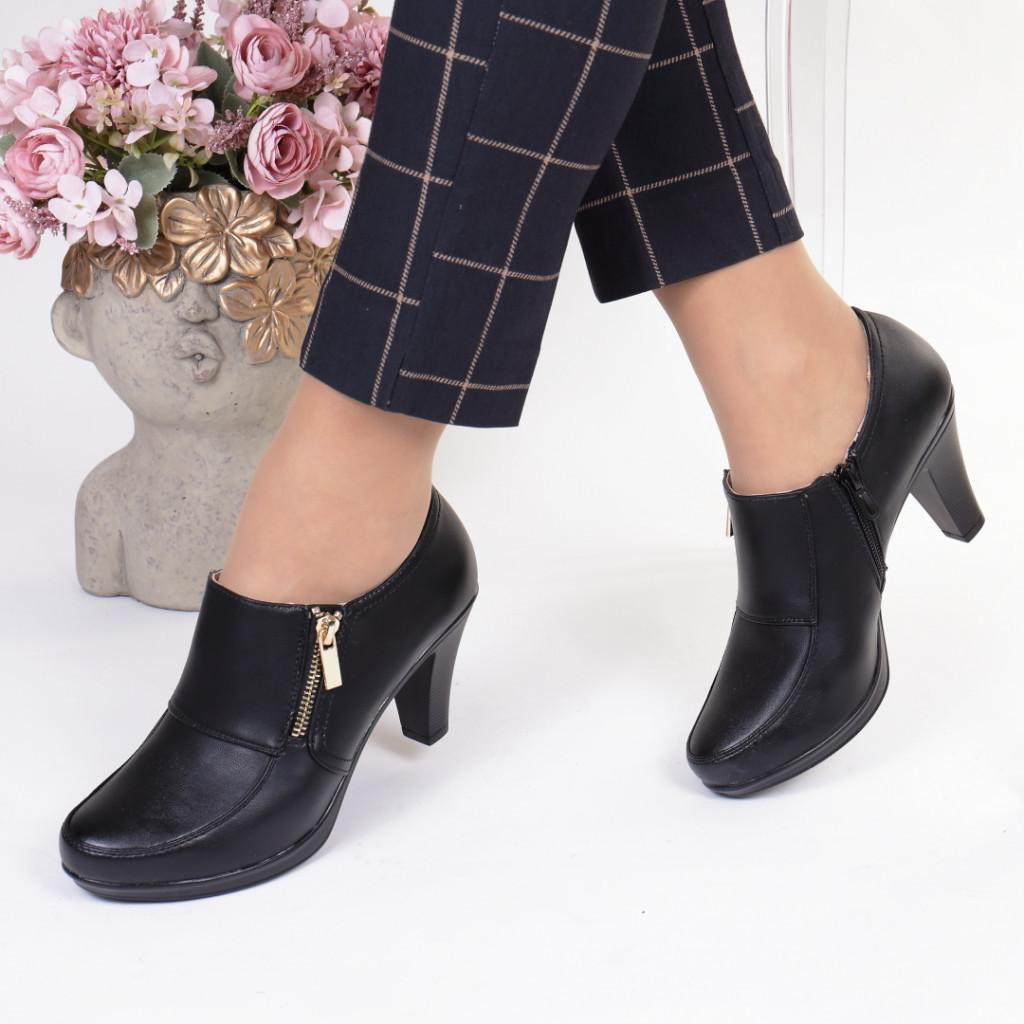 Pantofi piele ecologica Telma