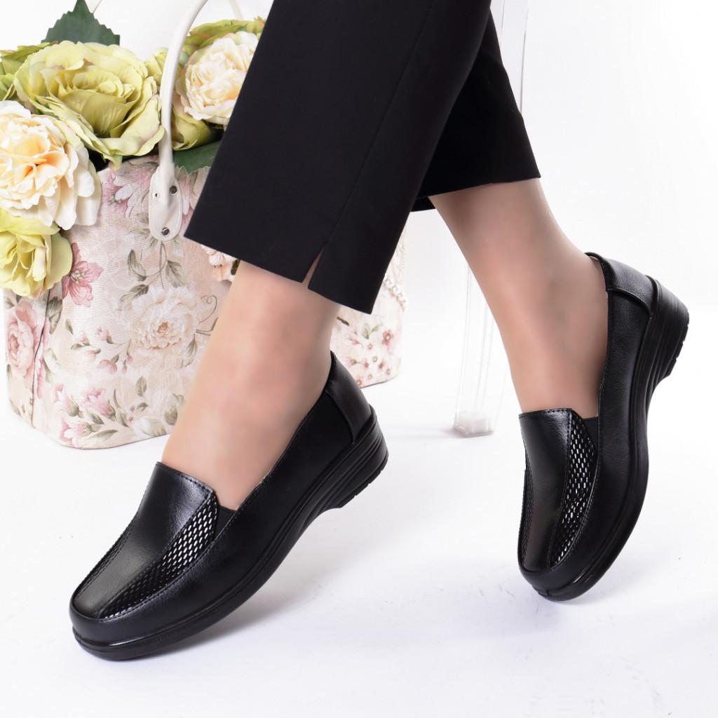 Pantofi piele ecologica Zihara