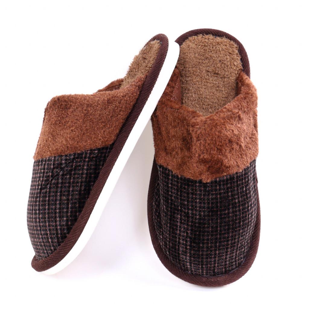 Papuci simpli maro Tom