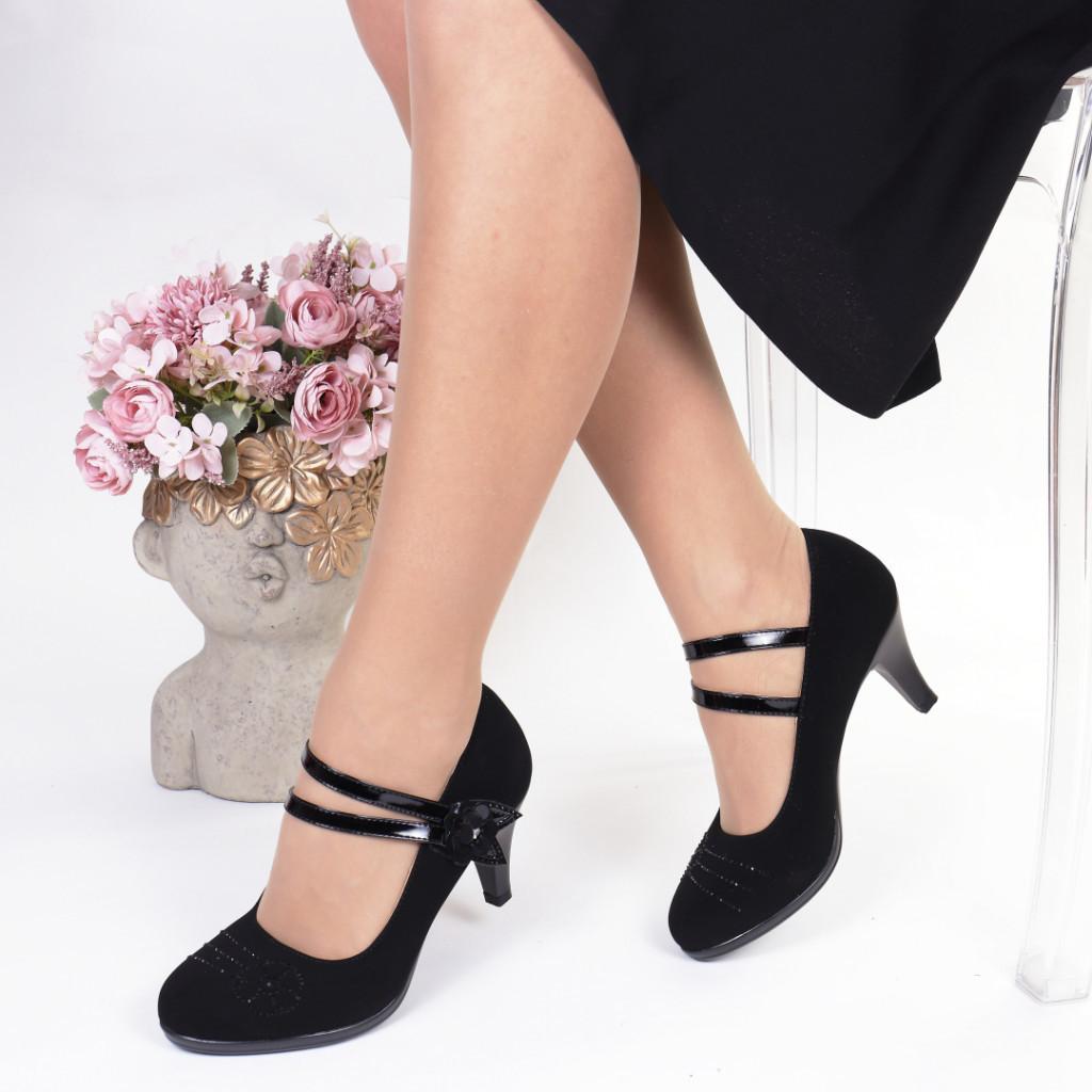 Pantofi piele ecologica Arsen