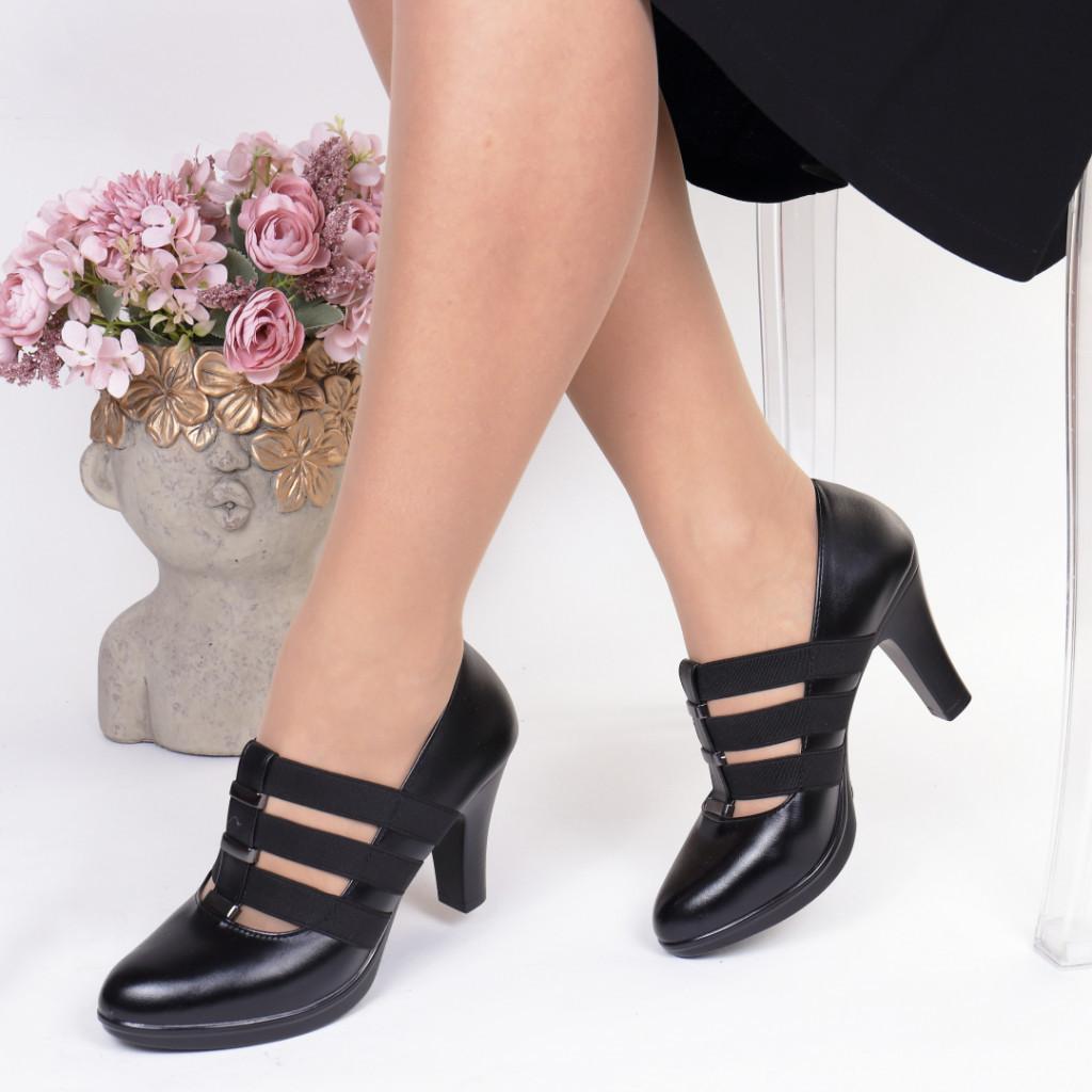 Pantofi piele ecologica Gita