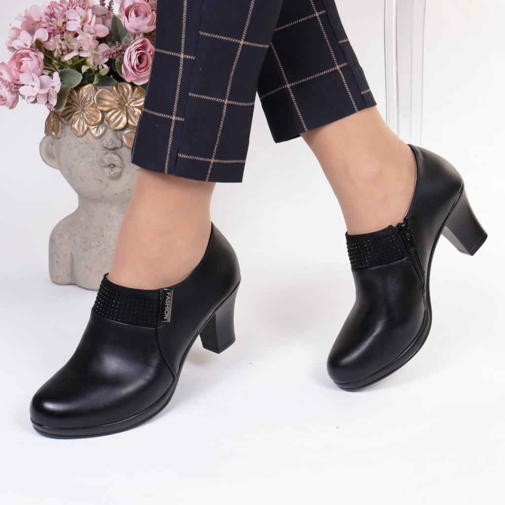 Pantofi piele ecologica Jovina