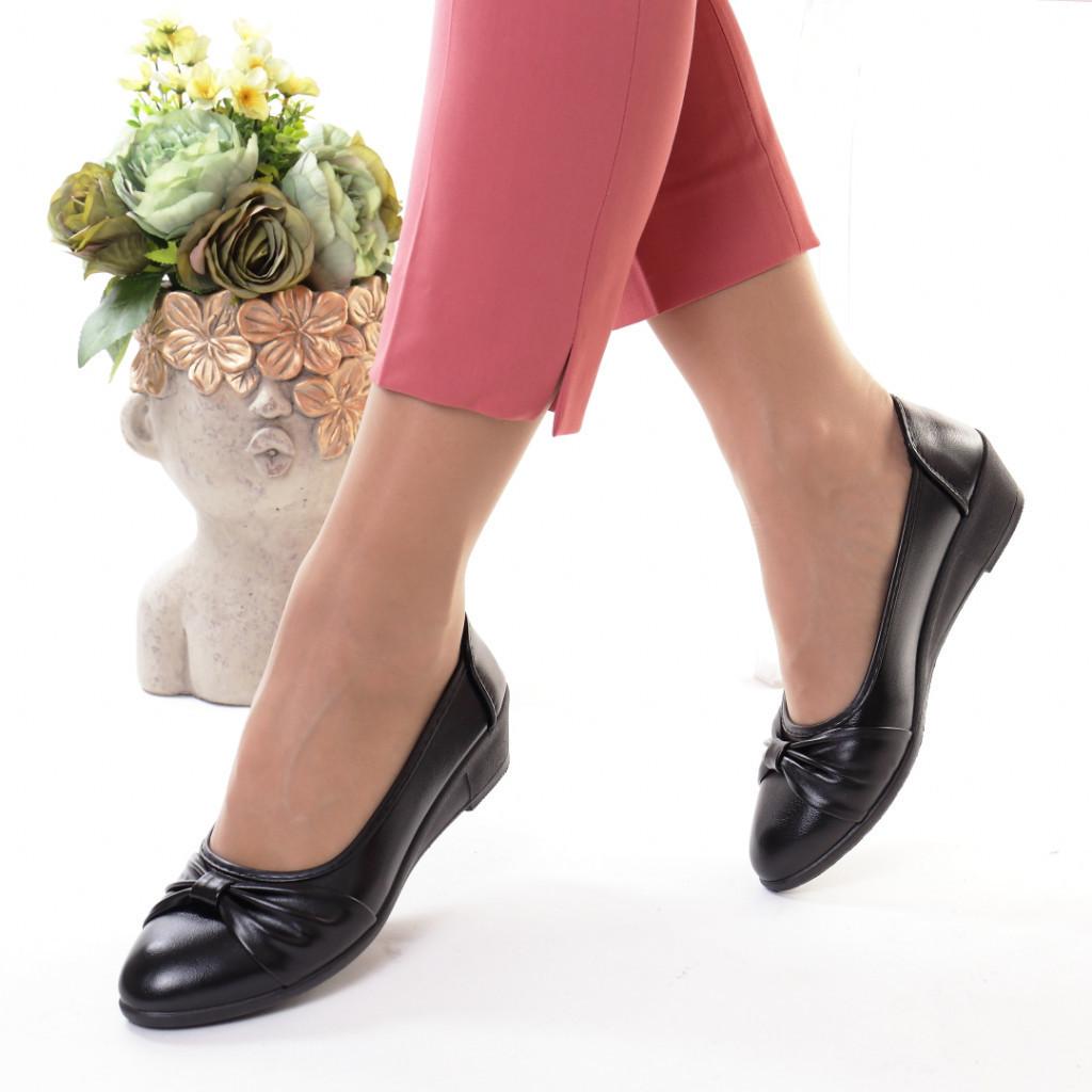 Pantofi piele ecologica Serina