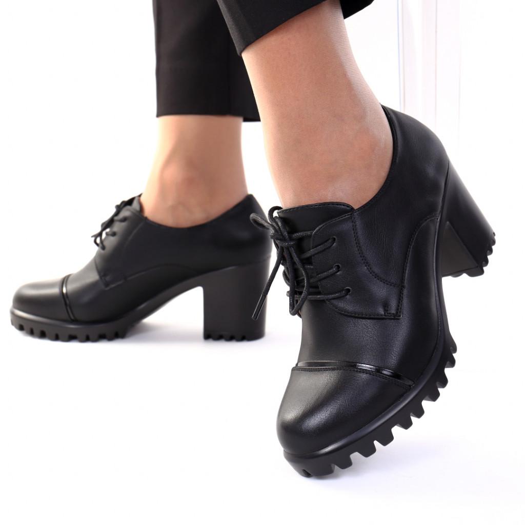 Pantofi piele ecologica Zasha