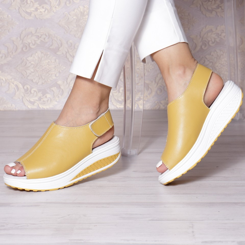 SANDALE KARA YELLOW