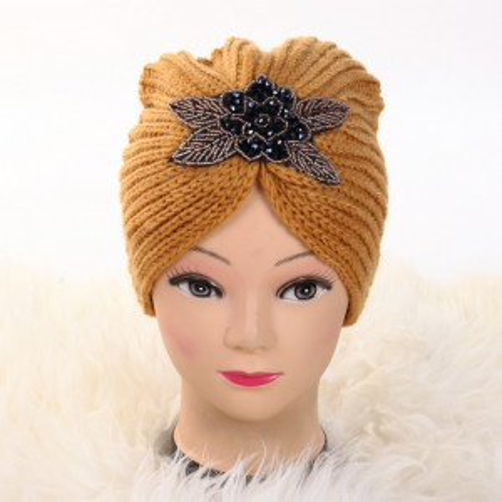 Turban cu model mustar Deli